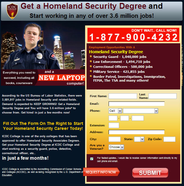 Homeland Security Degree >> Get Your Homeland Security College Degree Speak Truth 2 Power